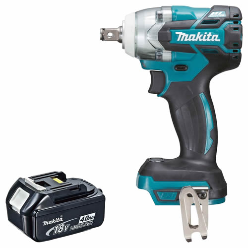 Makita DTW285Z4 Makita 18v Lithium-ion Impact Wrench Body + 4.0Ah Battery