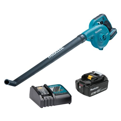 Makita DUB183RT 18v LXT Blower with 1 x 5Ah Battery and Charger