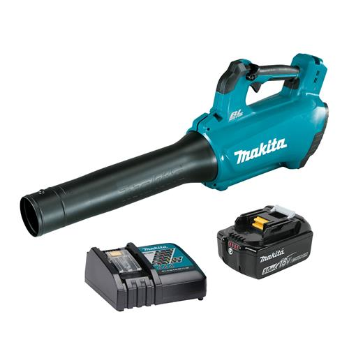 Makita DUB184RT 18v LXT Brushless Blower with 1 x 5Ah Battery and Charger