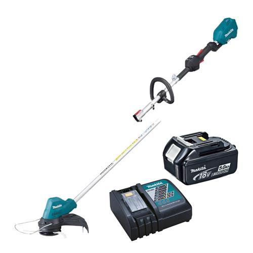 Makita DUR188LRT 18v LXT Brushless Line Trimmer with 1 x 5Ah Battery and Charger