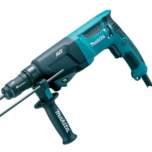 Makita HR2611FT Makita 26mm SDS+ Rotary Hammer Drill