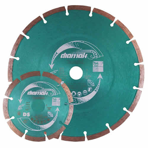 Makita P-80020 Makita 115mm & 230mm Diamak General Purpose Diamond Blade Pack