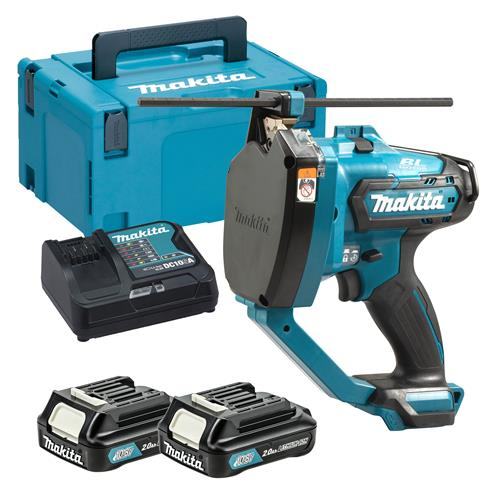 Makita SC103DSAJ 12V MAX CXT Brushless Threaded Rod Cutter with 2 x 2.0Ah Battery, Charger & Case