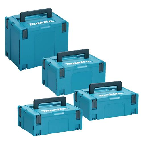 Makita STACK Stackable Case 4 Piece Set
