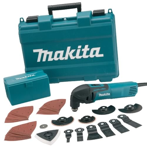 Makita Multi Cutter With 42 Accessories