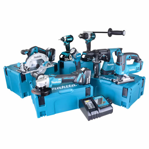 Makita TOPKIT7BJ Makita 18v 7 Piece Fully Brushless Kit