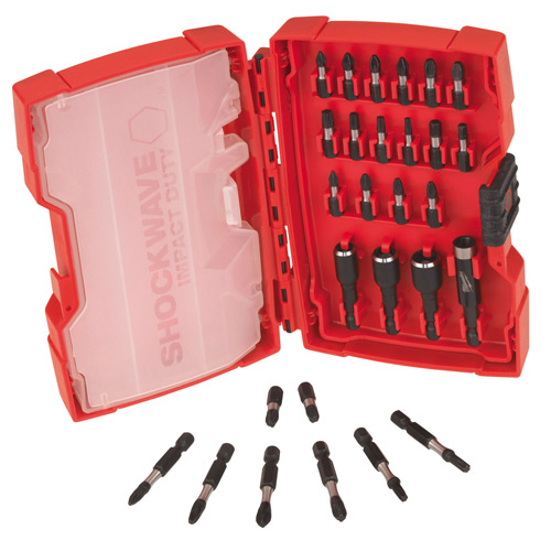 Milwaukee 4932352455 Milwaukee Shockwave - 28 Piece Impact Duty Screwdriver Bits