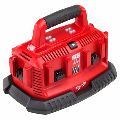 Milwaukee 4932430310 Milwaukee M14-M18 Multibay Charger (240v)
