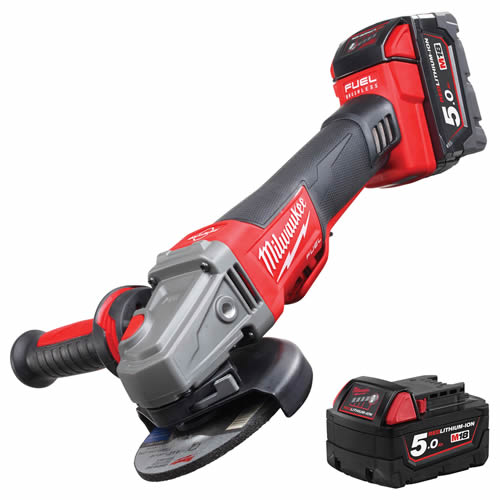 Milwaukee 4933451542 Milwaukee 18v Fuel Brushless 115mm Grinder 5.0Ah