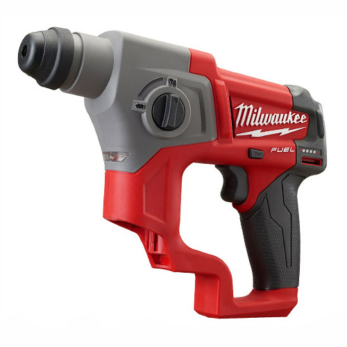 Milwaukee M12CH0 Milwaukee 12v RED Li-ion Brushless SDS+ Drill (Body Only)