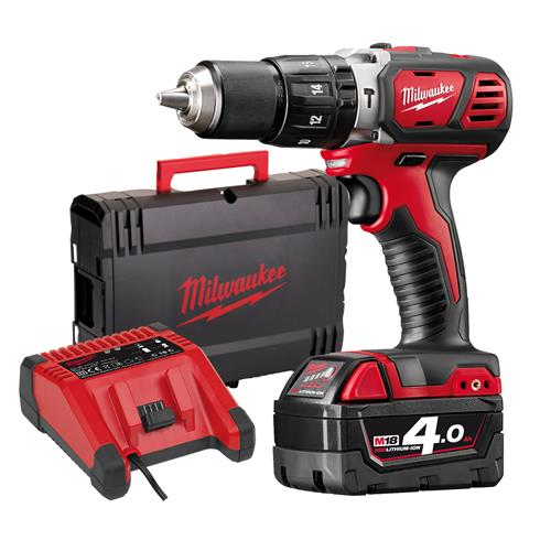 Milwaukee M18 BPD 401-C 18v RED Li-ion Combi Drill