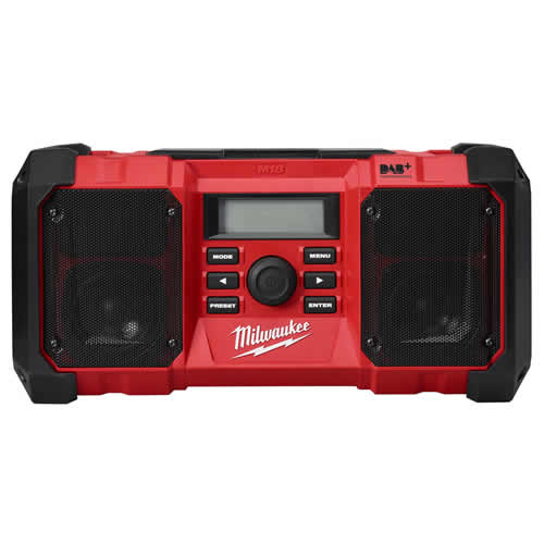 Milwaukee JSR DAB+ 0 Milwaukee 18v DAB Jobsite Radio