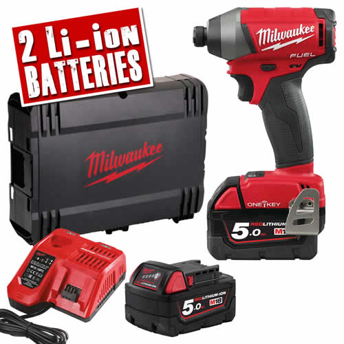 Milwaukee M18 ONE ID-502X Milwaukee 18v Fuel ONE KEY Impact Driver