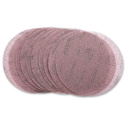 Mirka 5424105012 Mirka Abranet Discs 150mm, Box of 50, 120g