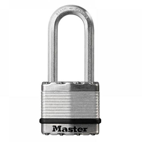 Master Lock MLKM1EURDLH Masterlock 45mm Excell Laminated Padlock 51mm Shackle 8mm Diameter