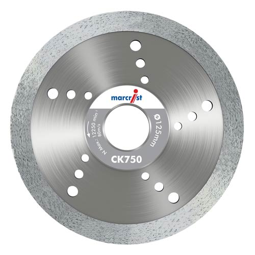 Marcrist CK750 Smooth Tile Blade 115mm