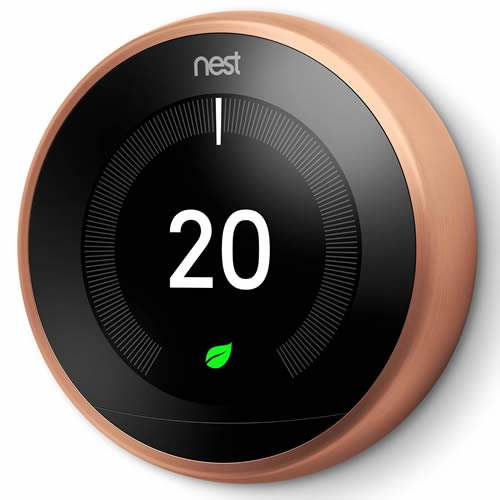 Nest T3018GB Nest Learning Thermostat 3rd Generation - Copper