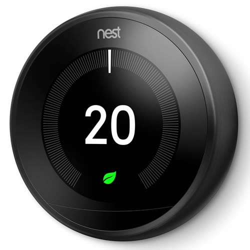 Nest T3019GB Nest Learning Thermostat, 3rd Generation - Black