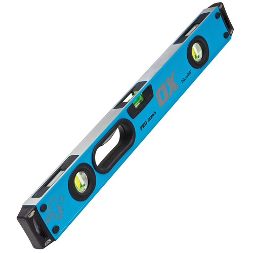 """OX Tools P024306 Ox Pro Magnetic Box Level 600mm/24"""""""