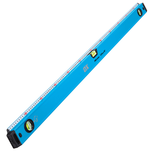 OX Tools P029012 OX Pro Level with Steel Rule 1200mm/48""