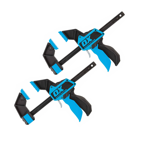 OX Tools OX-P201206PK2 PRO Heavy Duty Bar Clamp 6''/150mm - Pack of Two