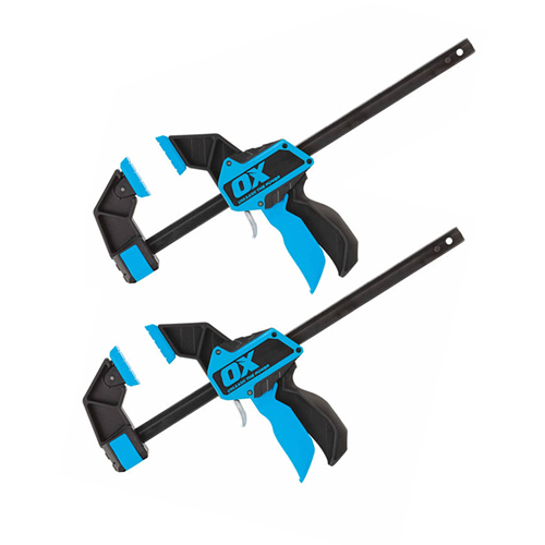 OX Tools OX-P201212PK2 PRO Heavy Duty Bar Clamp 12''/300mm - Pack of Two