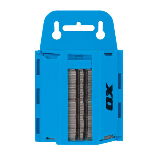 OX Tools P222110 Ox Pro Heavy Duty Blade Dispenser & 100 Blades