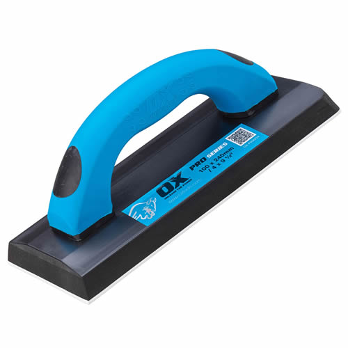 OX Tools P406224 OX Pro Soft Grip Grout Float 240mm x 100mm