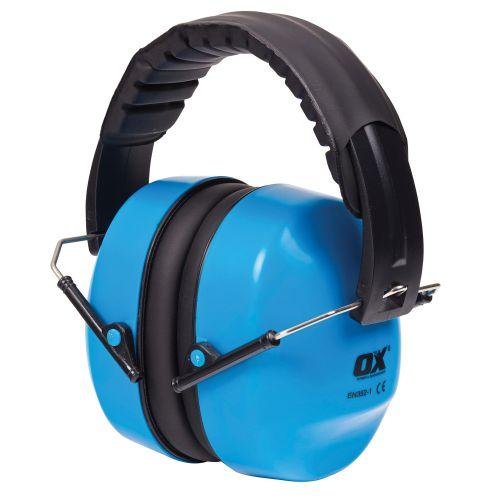 OX Tools OX-S248930 Folding Collapsible Ear Defenders SNR 30dB