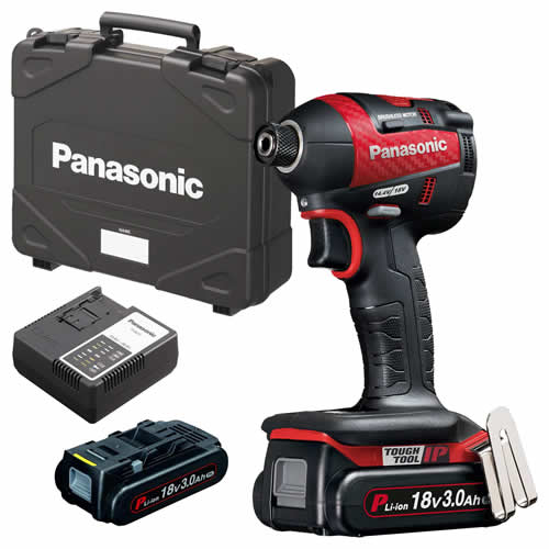 Panasonic EY75A7PN3G31R2 Panasonic 18v Brushless Impact Driver 2 x 3.0Ah Batteries