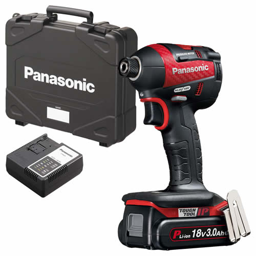 Panasonic EY75A7PN3G31R21 Panasonic 18v Brushless Impact Driver 1 x 3.0Ah Batteries