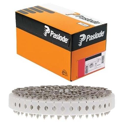 Paslode 142200 Paslode 25 x 2.8mm 0° Plastic Coil Hot Dip Galvanised Nails - Pack of 1000