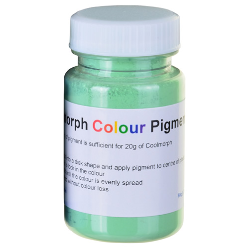Polymorph PMC50G Polymorph Mouldable Plastic Colouring - Green