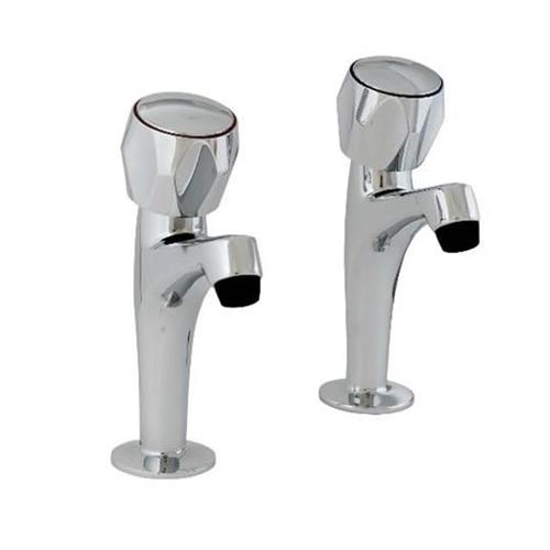 Pro tap 298615CP Pro Classic Snk Pillar Taps Chrome Plated