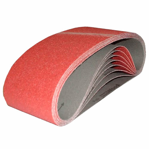 ITS PRO12053375 Sanding Belts (PK10) 533mm X 75mm 120 Grit