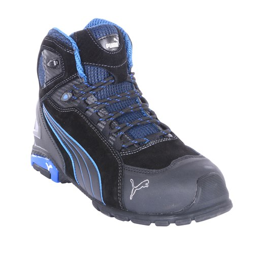Puma Rio Mid Safety Boots (Black)