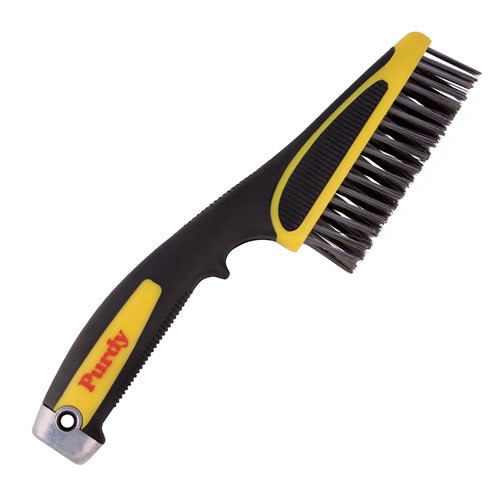 Purdy 11'' Short Handle Wire Brush