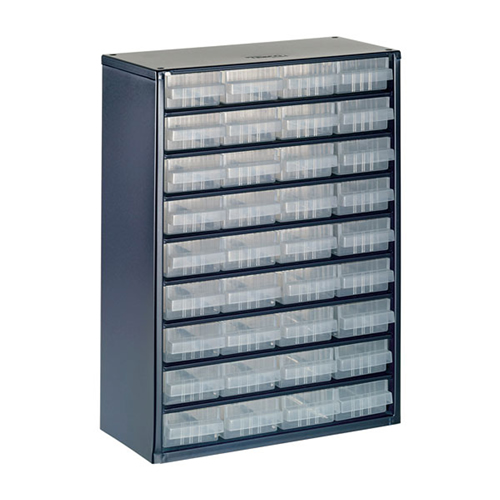 Raaco 137461 900 Series Small Parts Storage Cabinet with 36 Drawers