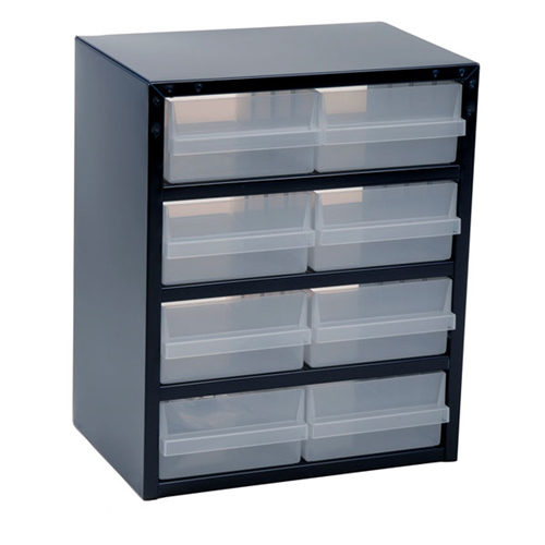 Raaco 137584 250 Series Storage Cabinet with 8 Drawers