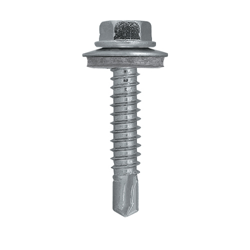 Rawlplug 55022T Rawlplug OC Self Drilling Screws 5.5mm x 22mm with Washer - Pack of 200