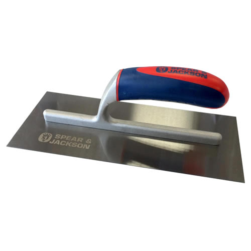 Spear & Jackson 10611CSF Spear and Jackson 11'' Soft Touch Carbon Finishing Trowel