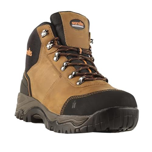 Scruffs Assault Safety Boot - Brown