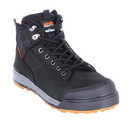 Switchback Safety Boot - Black