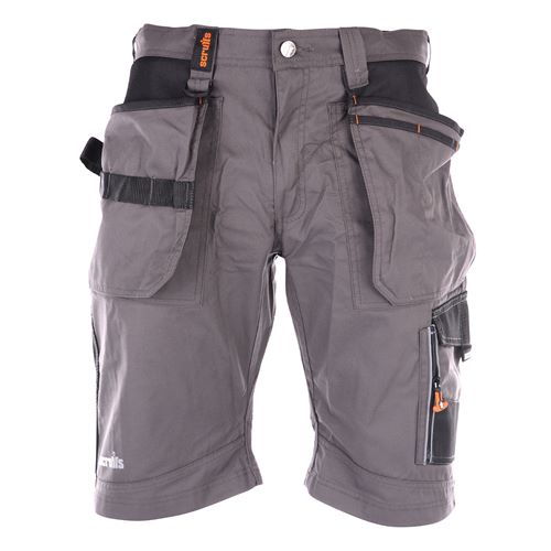 Scruffs T528 Scruffs Trade Shorts - Grey