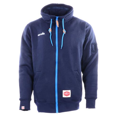 Scruffs Zip Thru Fleece - Navy