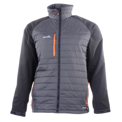 Expedition Thermo Soft Shell Jacket - Black/Grey