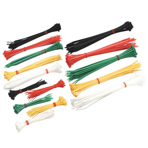 Sealey CT375 Sealey Cable Ties Assorted Pack of 375