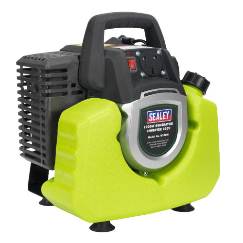 Sealey G1000I Sealey G1000I Generator Inverter 1000W (240v)