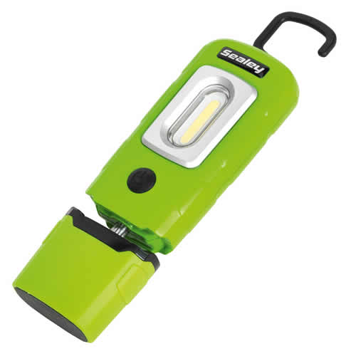 Sealey LED3601G SEALEY 360° LED Rechargeable Torch