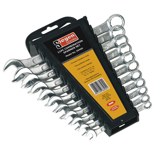 Sealey S0400 Sealey Combination Metric Spanner 11 Piece Set
